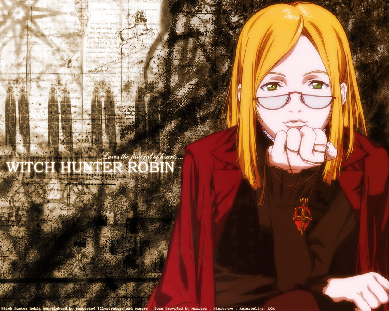 HD Quality Wallpaper | Collection: Anime, 1280x1024 Witch Hunter Robin
