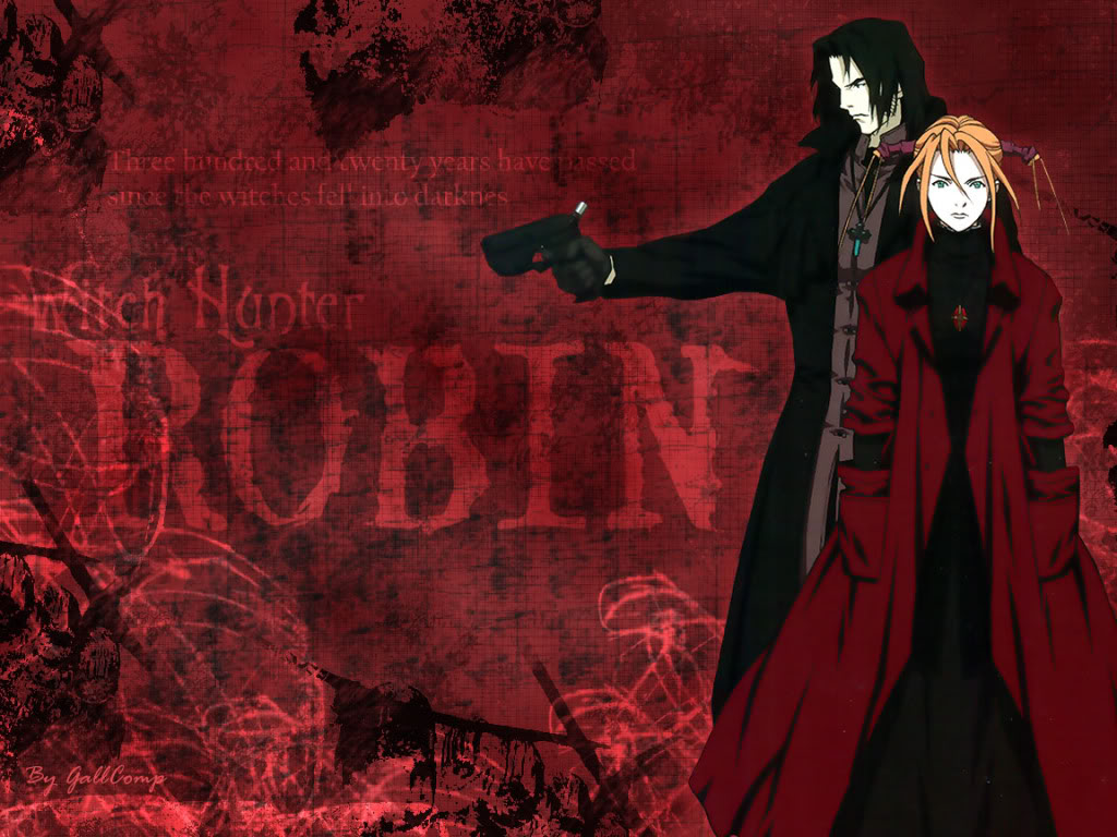 1024x768 > Witch Hunter Robin Wallpapers