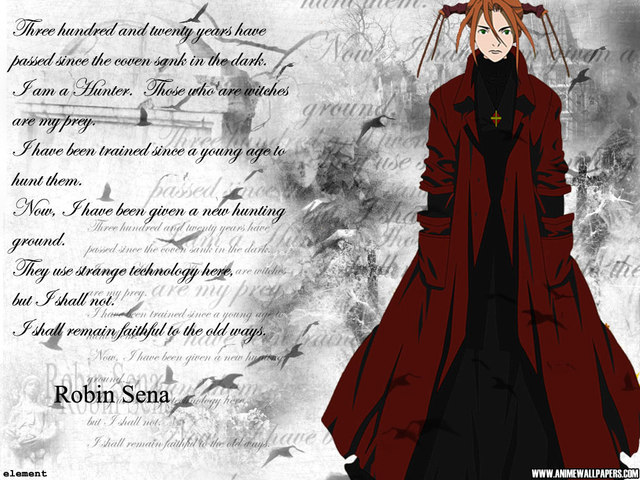 Nice Images Collection: Witch Hunter Robin Desktop Wallpapers