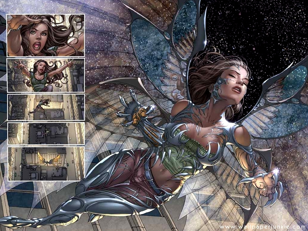 Nice wallpapers Witchblade 1024x768px