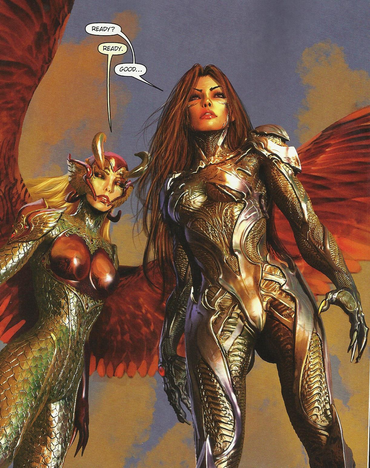 Witchblade Backgrounds on Wallpapers Vista