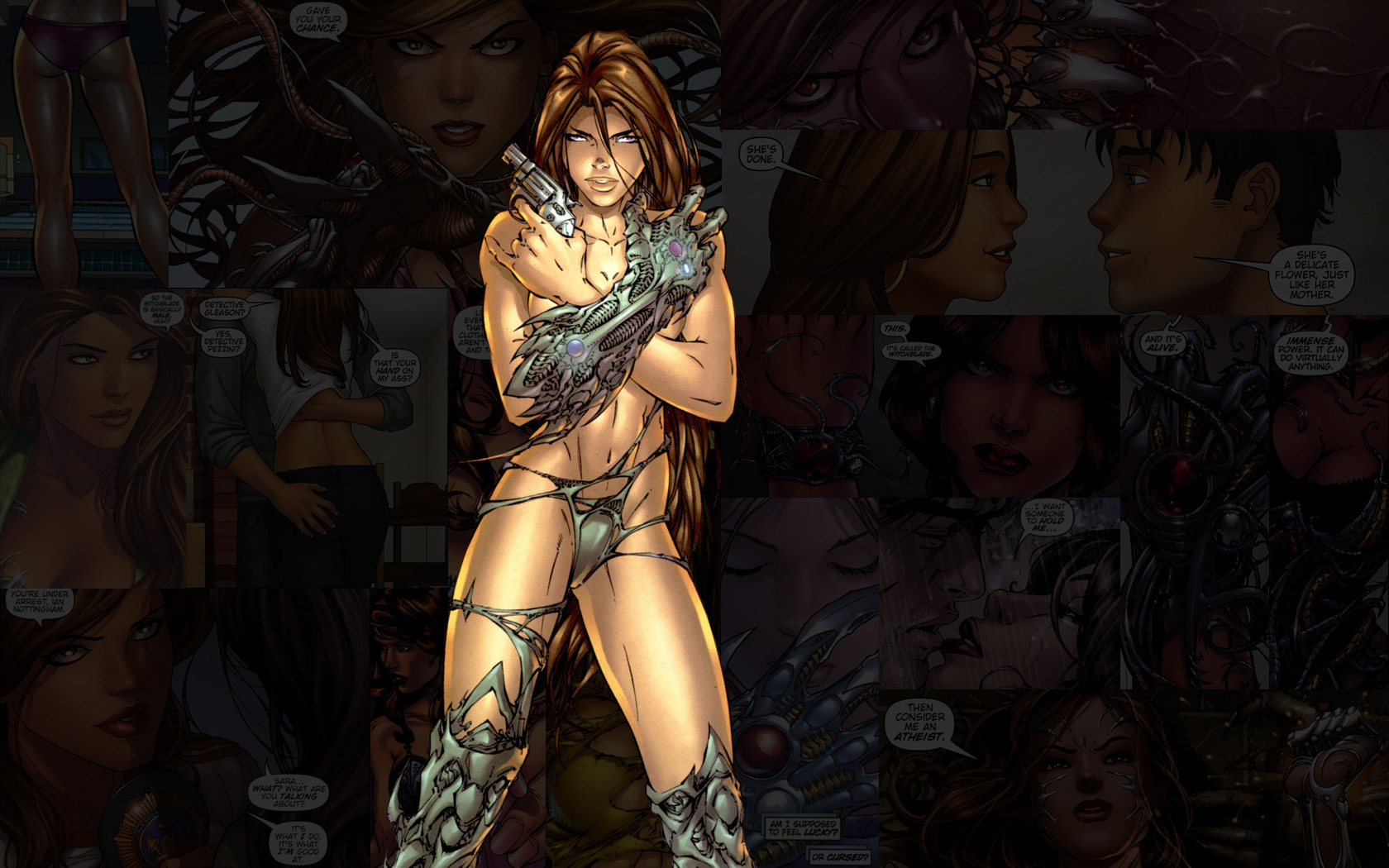 Nice Images Collection: Witchblade Desktop Wallpapers