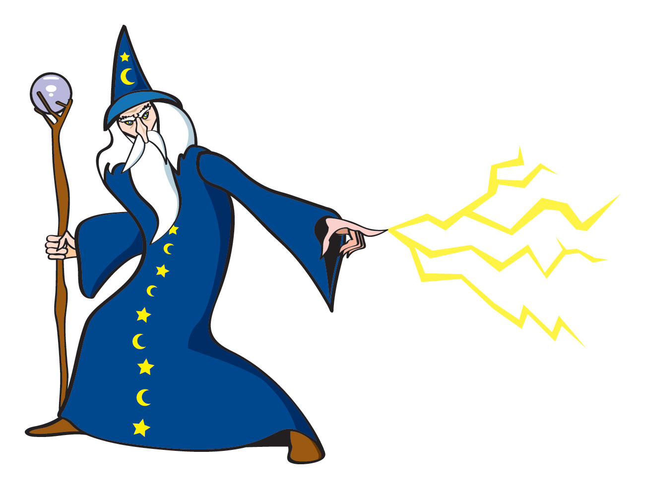 Nice Images Collection: Wizard Desktop Wallpapers