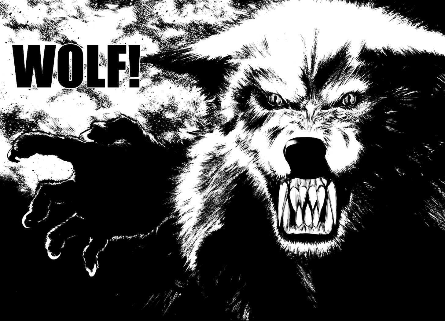 1456x1051 > Wolf Guy Wallpapers