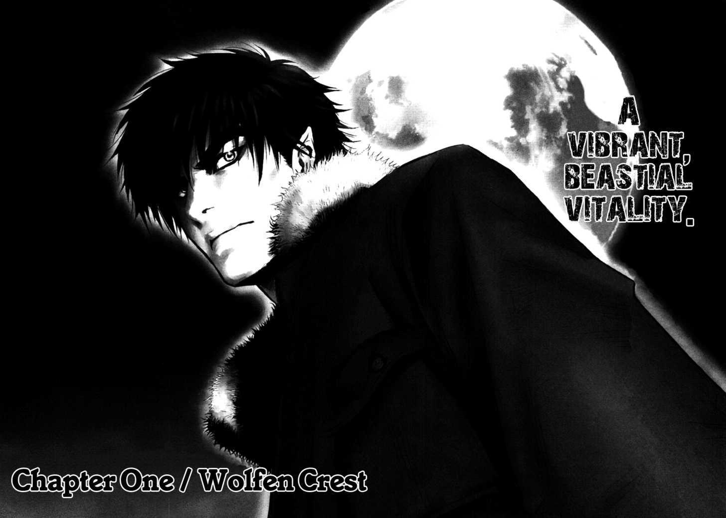HD Quality Wallpaper | Collection: Anime, 1456x1039 Wolf Guy