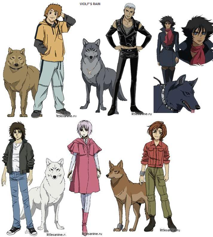 HD Quality Wallpaper | Collection: Anime, 713x793 Wolf's Rain