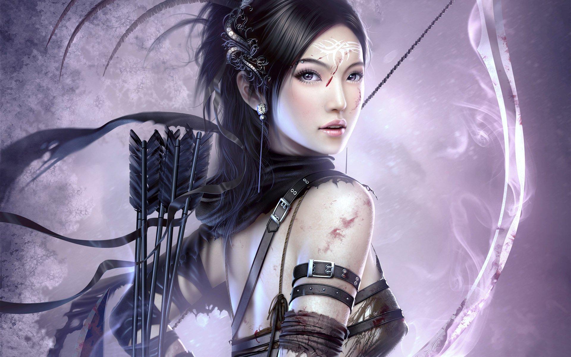 Images of Women Warrior | 1920x1200