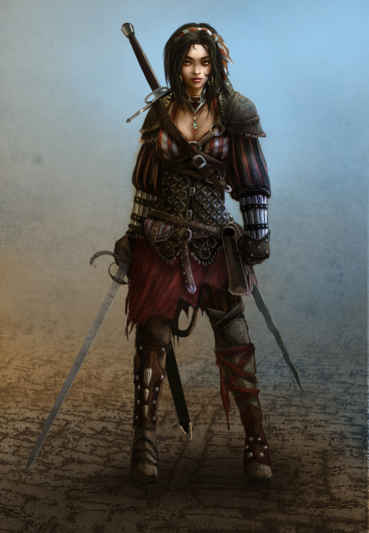 Nice Images Collection: Women Warrior Desktop Wallpapers