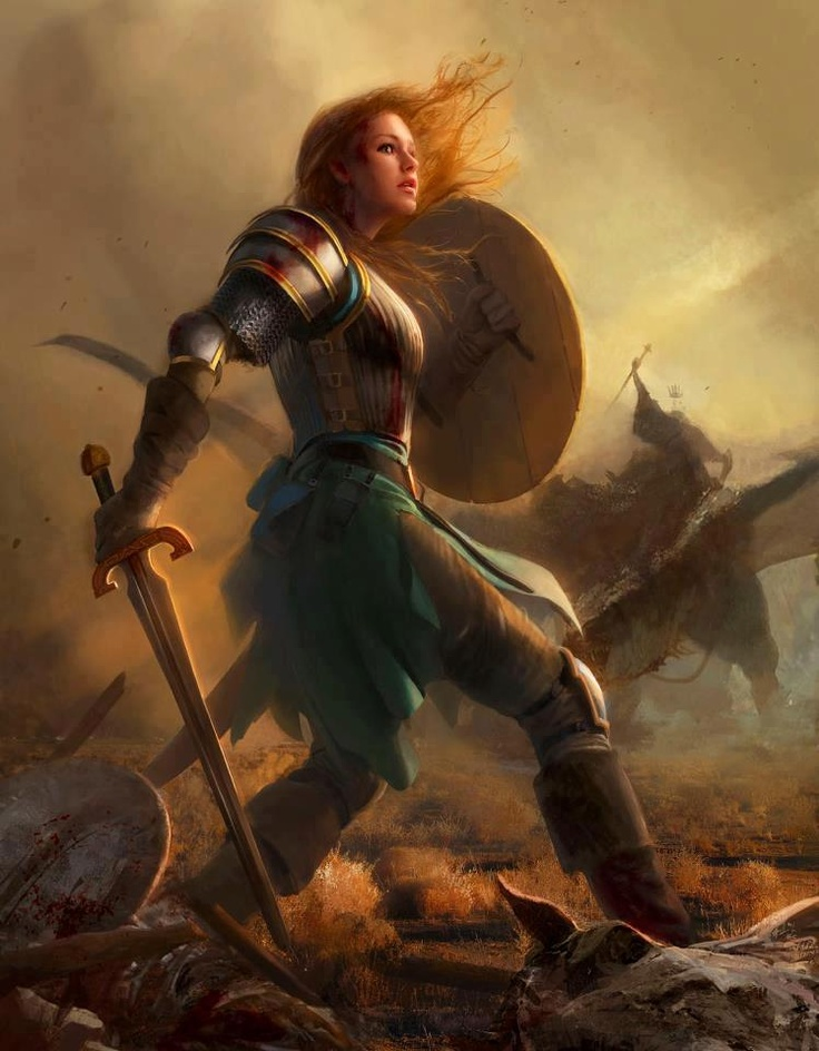 Nice Images Collection: Women Warrior Desktop Wallpapers
