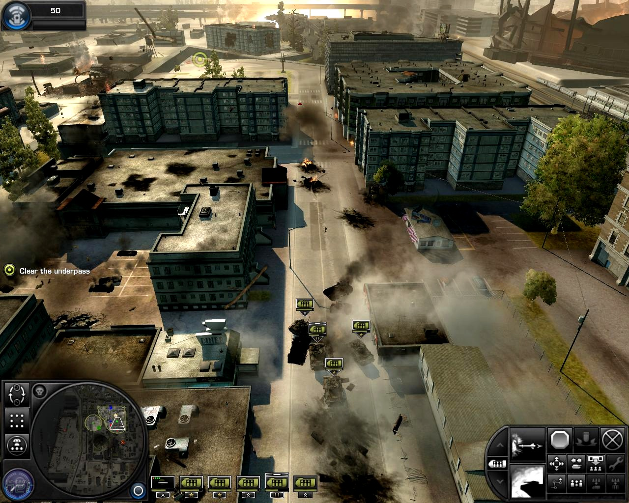 High Resolution Wallpaper   World In Conflict 1280x1024 px
