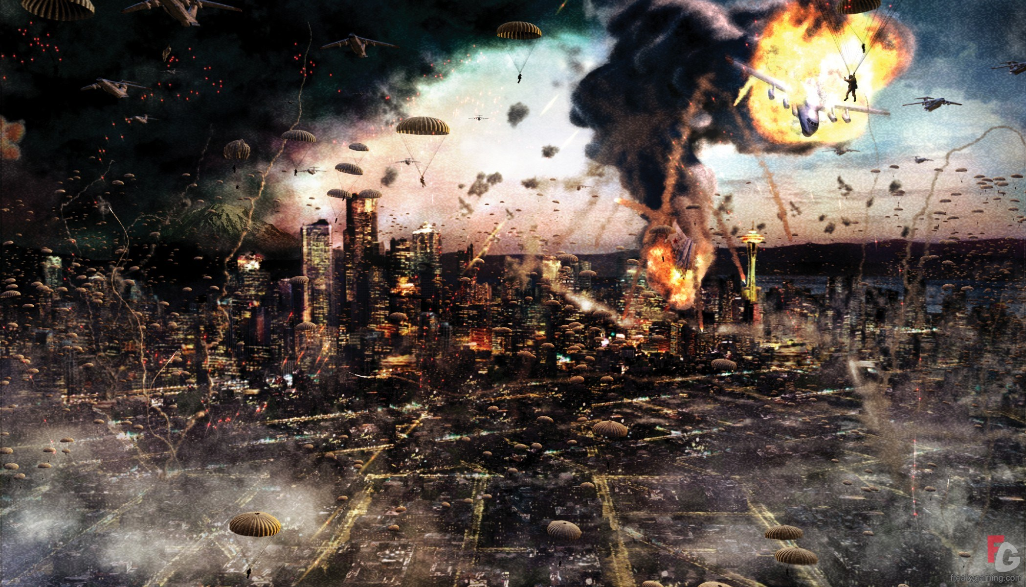 2098x1200 > World In Conflict Wallpapers