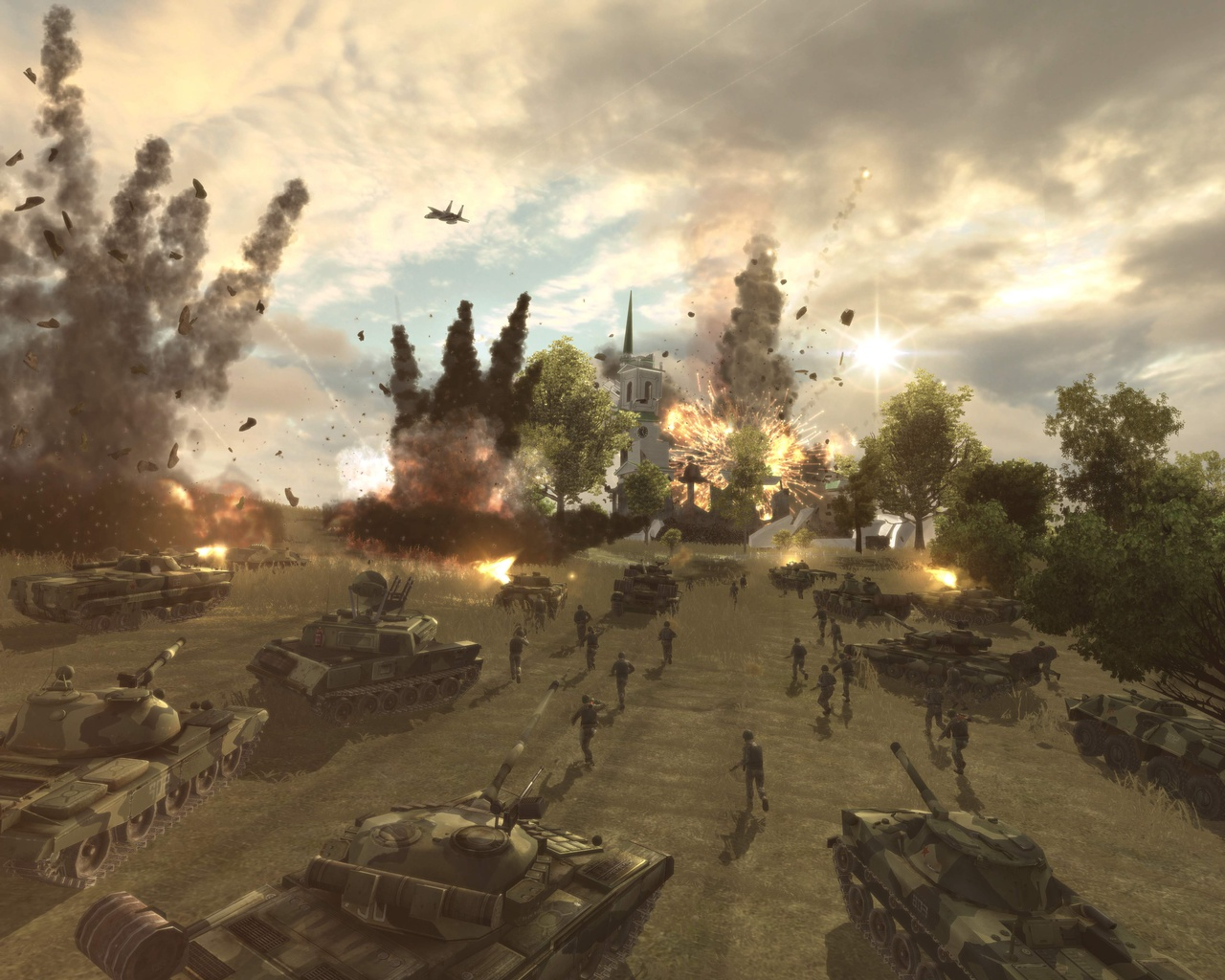 Nice Images Collection: World In Conflict Desktop Wallpapers