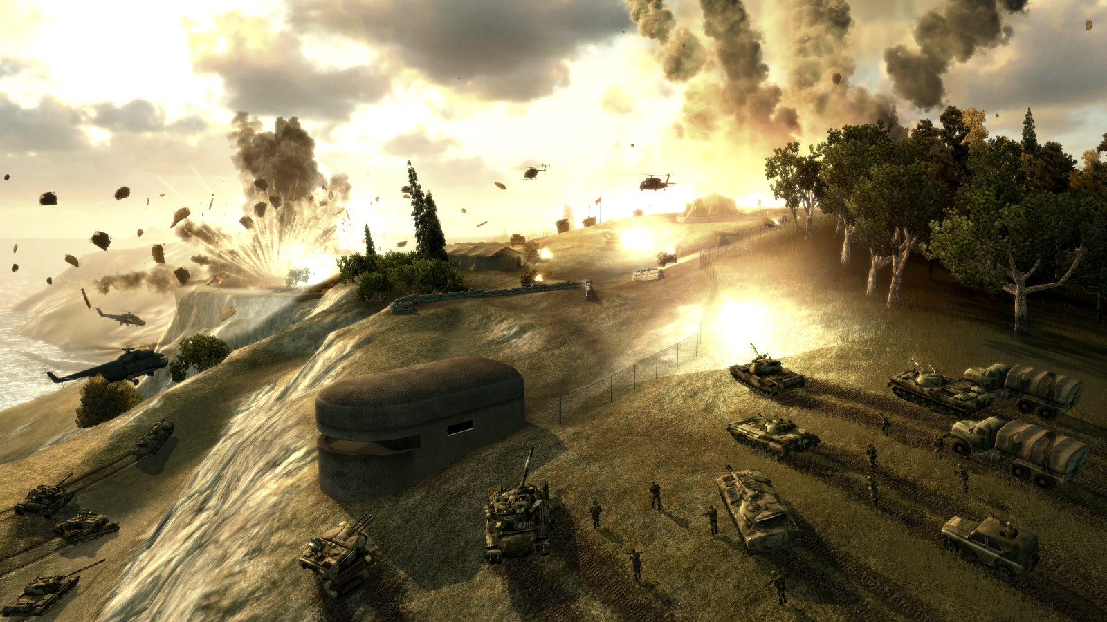 World In Conflict Backgrounds, Compatible - PC, Mobile, Gadgets  1600x900 px