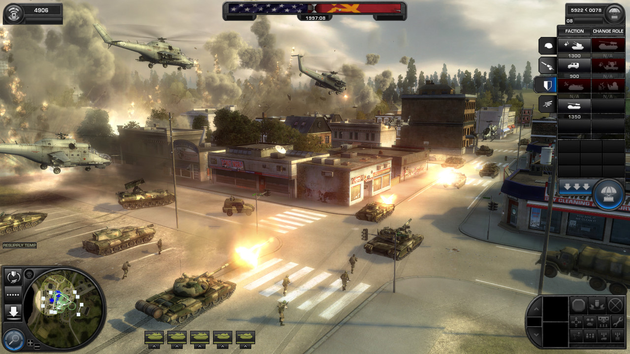 HD Quality Wallpaper   Collection: Video Game, 1280x720 World In Conflict