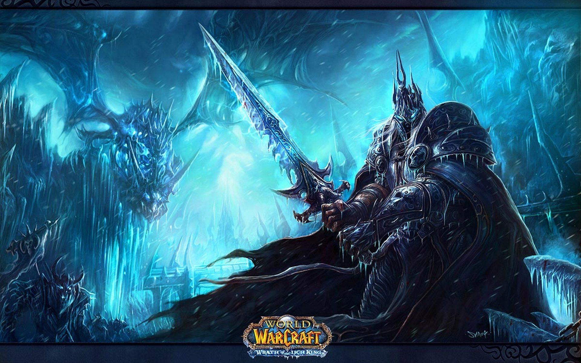 World Of Warcraft Rise Of The Lich King Wallpapers Video Game
