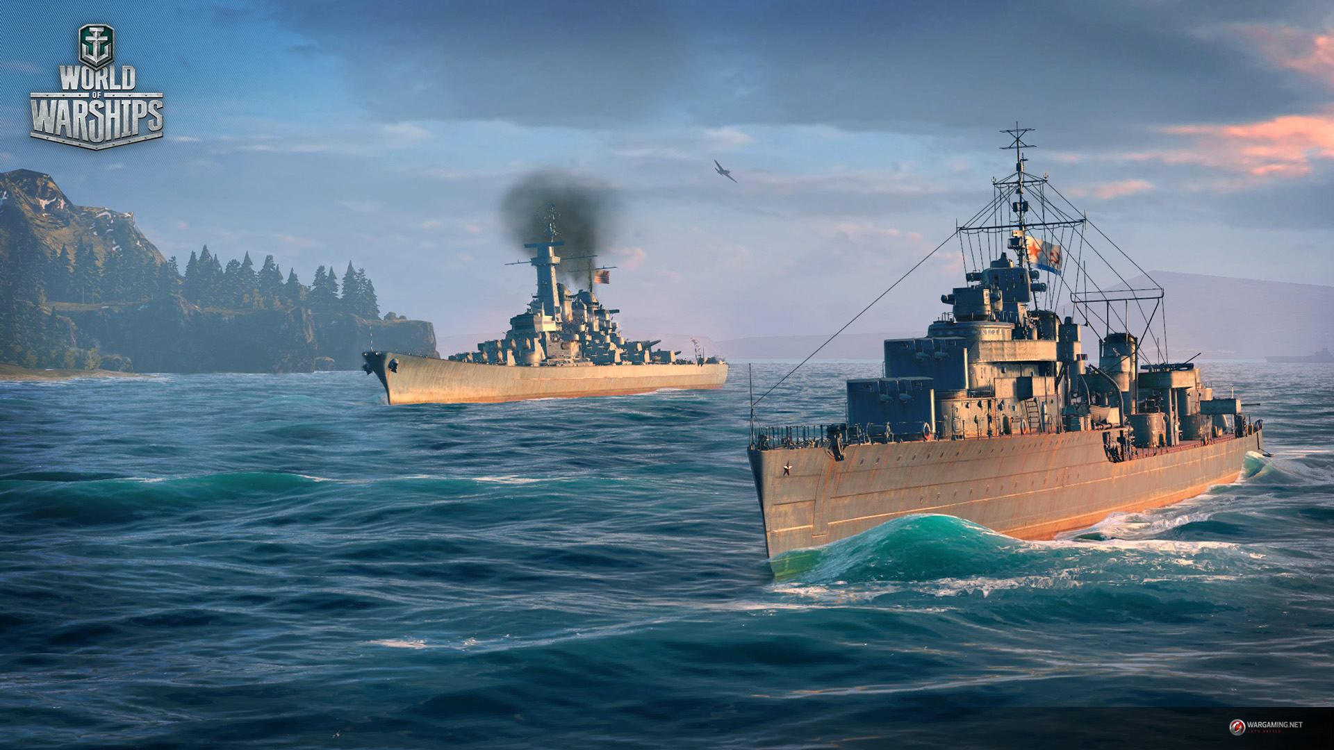 World Of Warships Wallpapers Video Game Hq World Of Warships