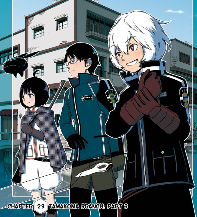 Nice wallpapers World Trigger 652x719px
