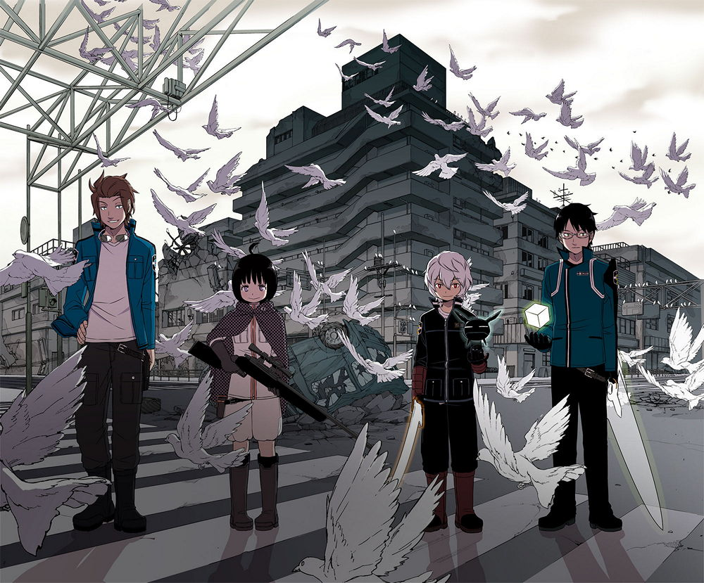 1000x829 > World Trigger Wallpapers