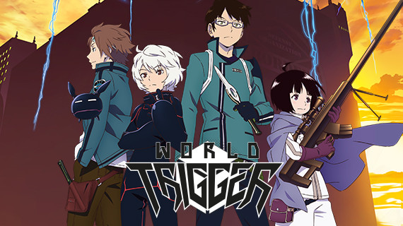 High Resolution Wallpaper | World Trigger 570x320 px