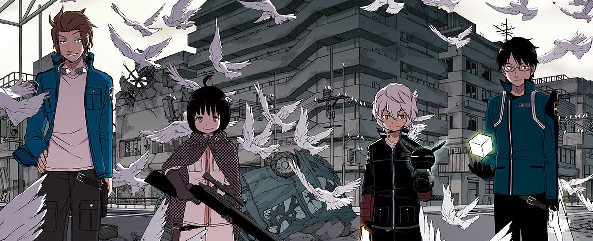 High Resolution Wallpaper | World Trigger 1208x492 px