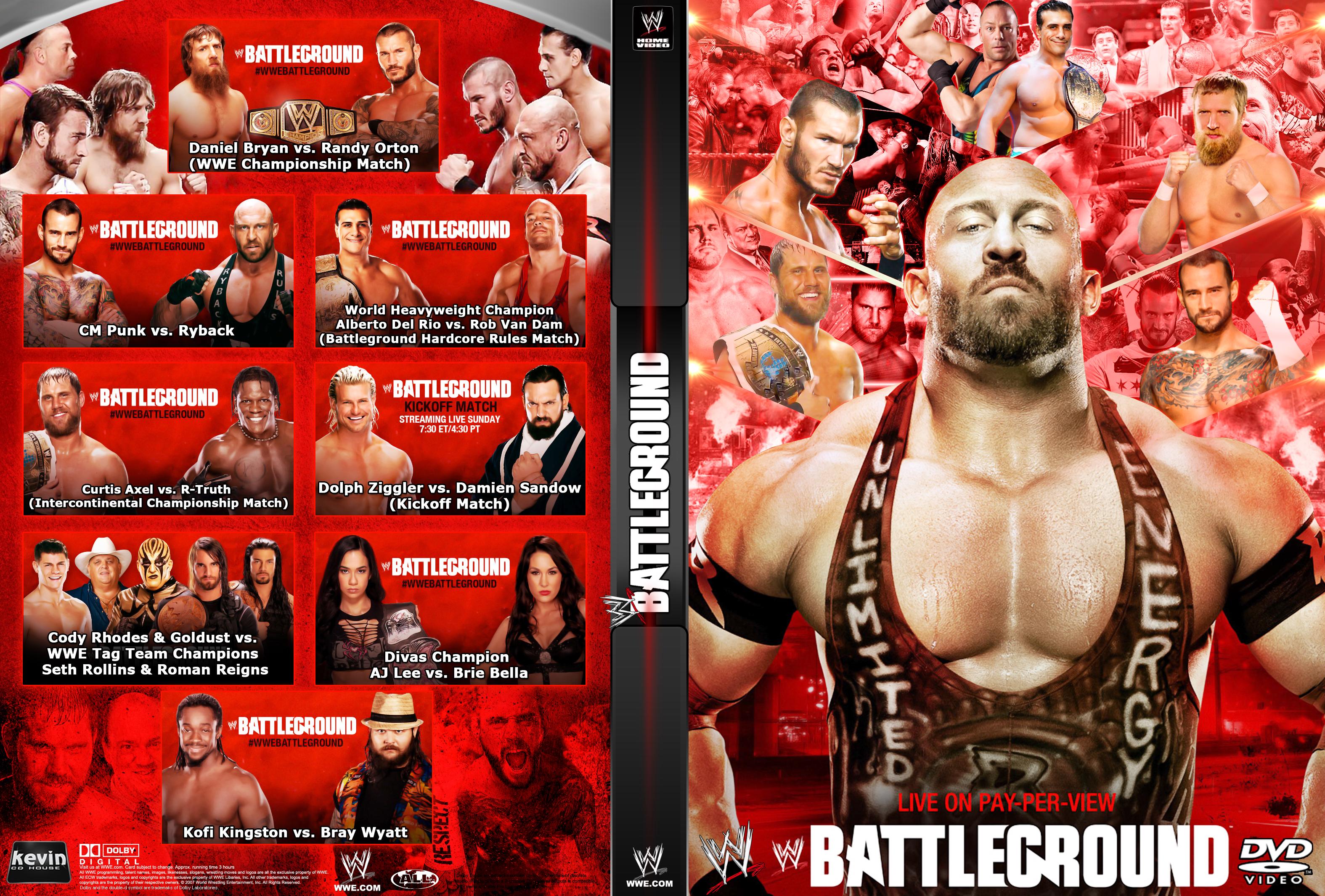 HD Quality Wallpaper | Collection: Movie, 3150x2130 WWE Battleground 2013