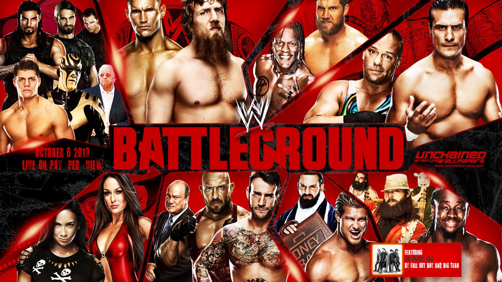 WWE Battleground 2013 Pics, Movie Collection