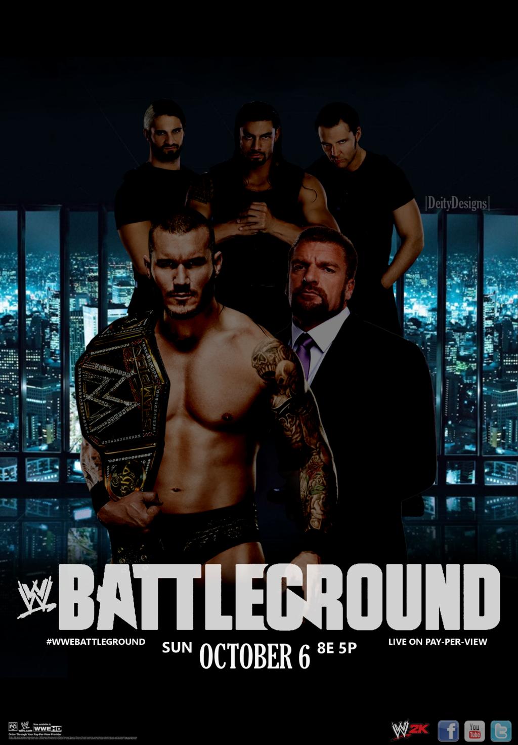 HD Quality Wallpaper | Collection: Movie, 1024x1472 WWE Battleground 2013