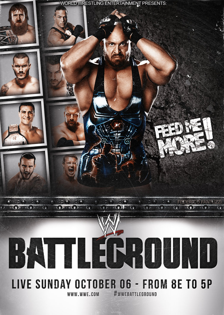 WWE Battleground 2013 Backgrounds, Compatible - PC, Mobile, Gadgets| 755x1059 px