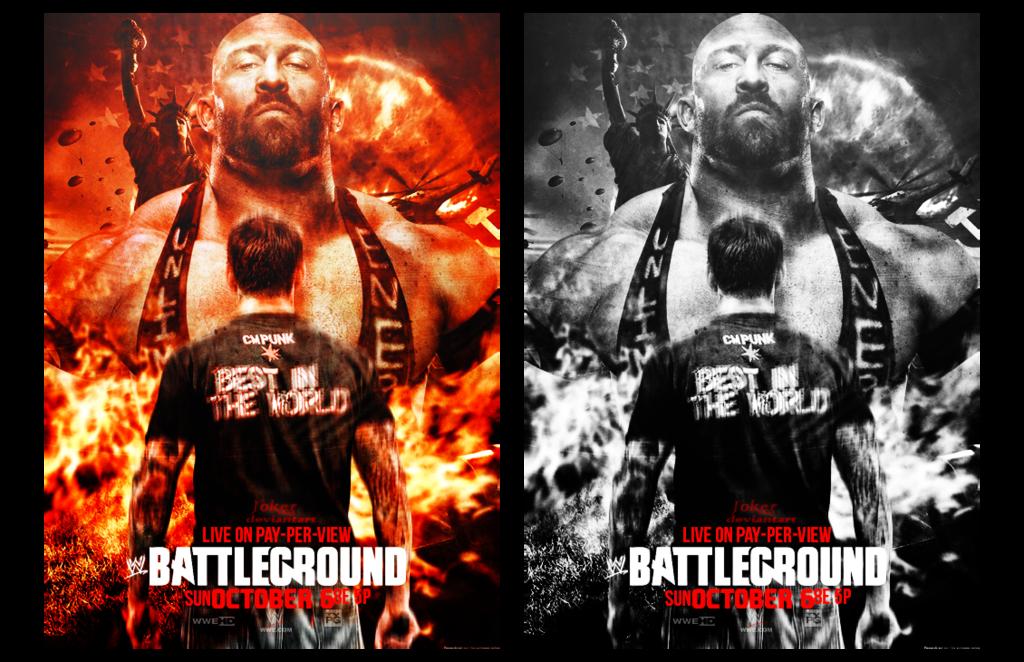 1024x662 > WWE Battleground 2013 Wallpapers