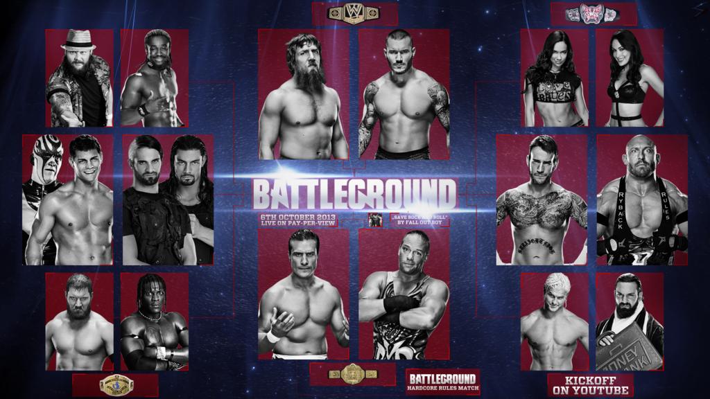 1024x576 > WWE Battleground 2013 Wallpapers