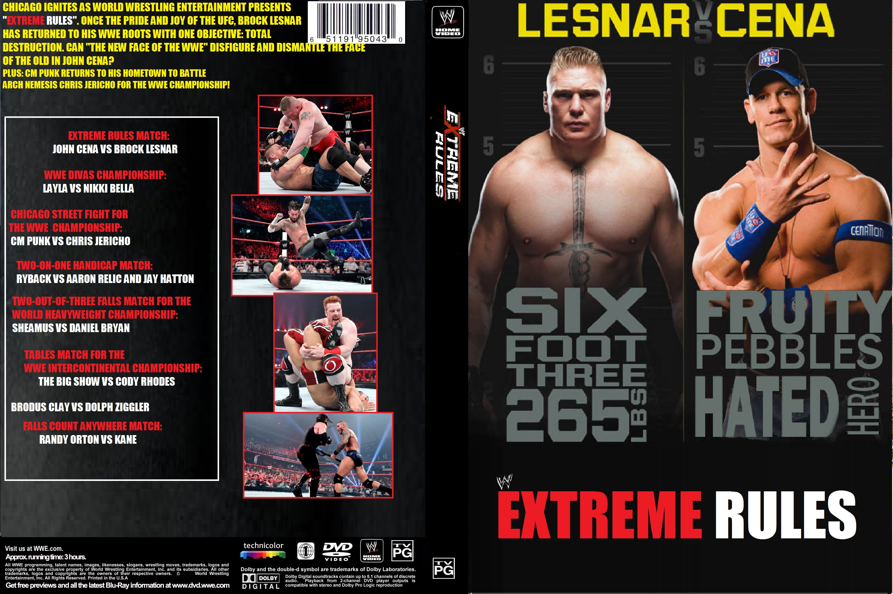 3000x1996 > WWE Extreme Rules 2012 Wallpapers