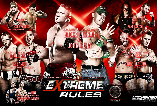 Images of WWE Extreme Rules 2012 | 650x440