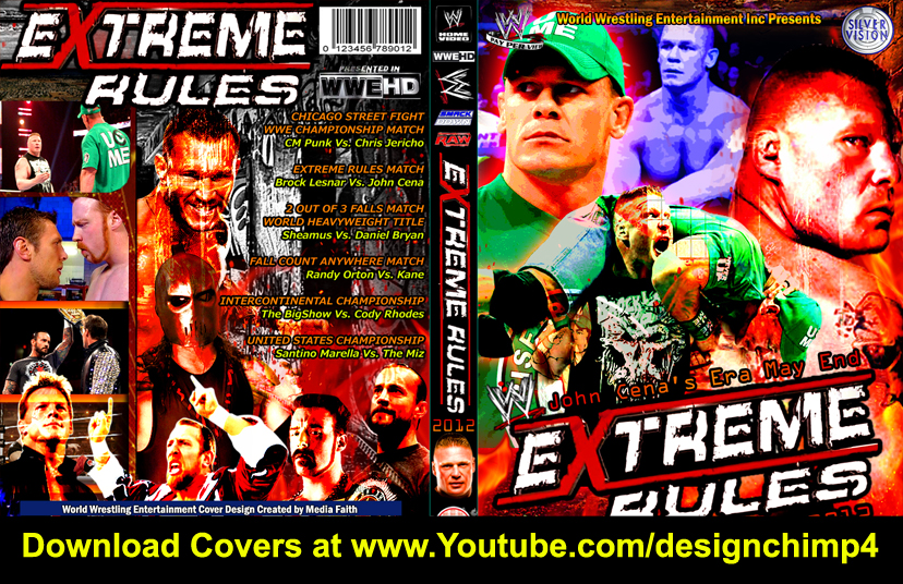 Nice wallpapers WWE Extreme Rules 2012 828x536px