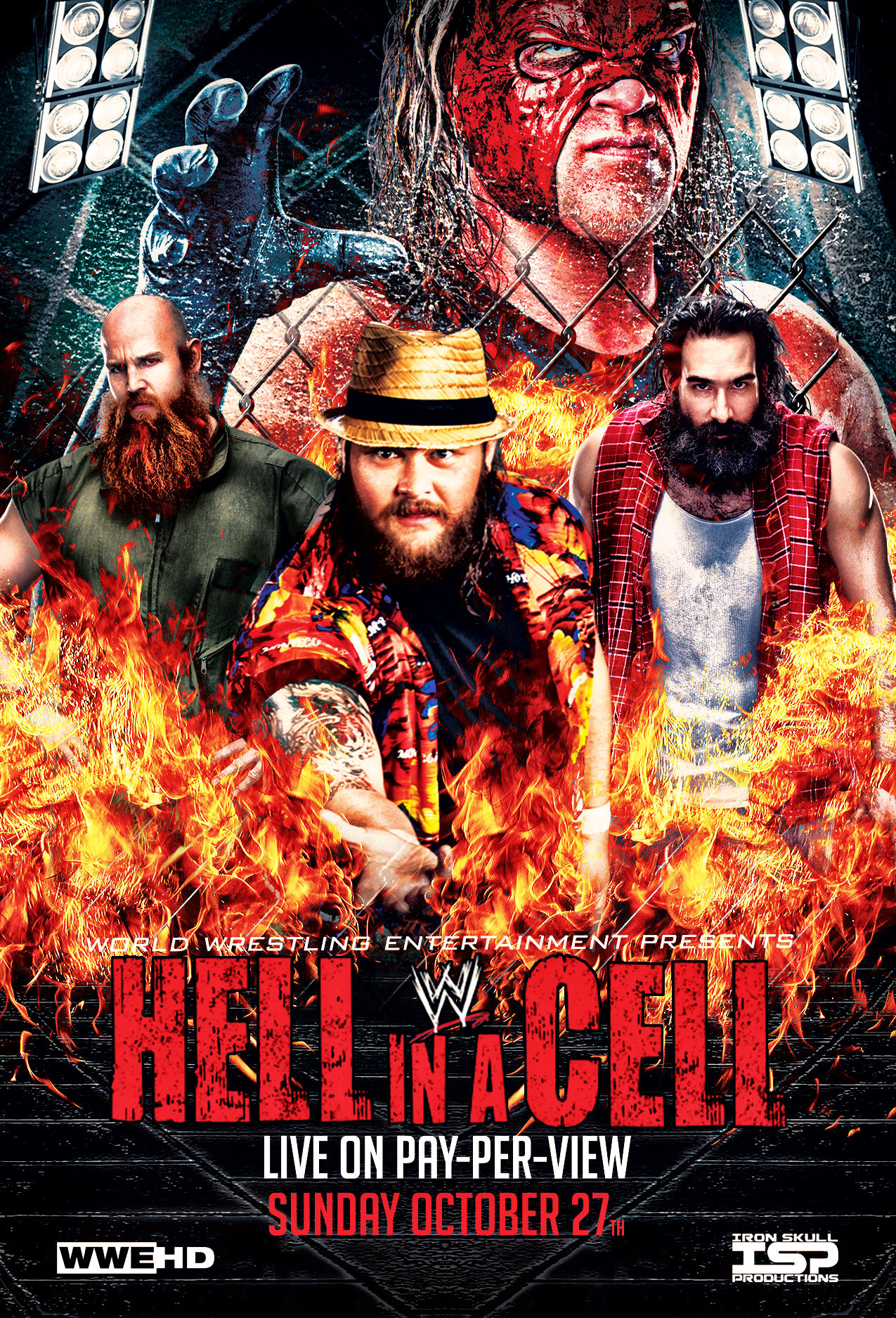 WWE Hell In A Cell 2013 High Quality Background on Wallpapers Vista