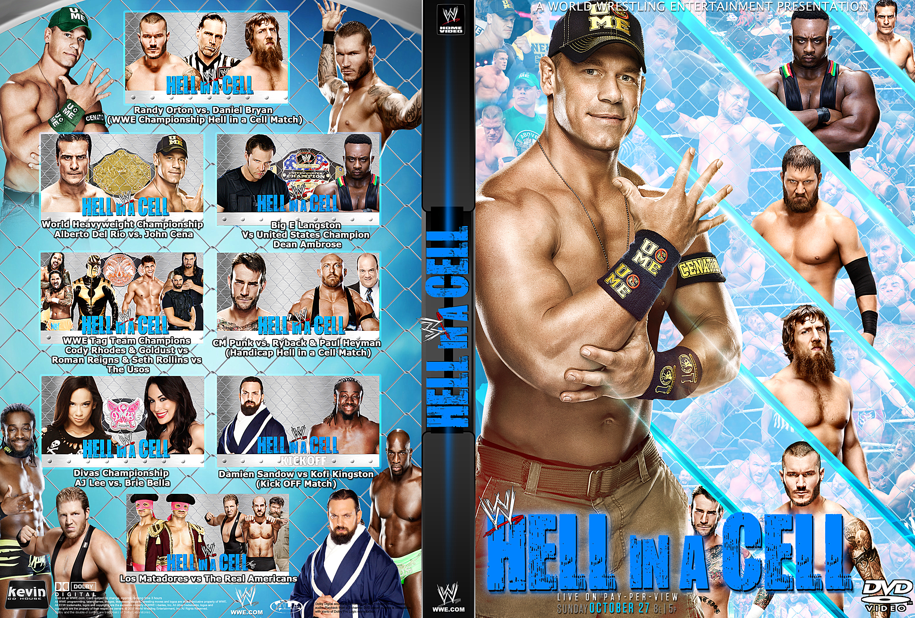 Images of WWE Hell In A Cell 2013   3150x2130