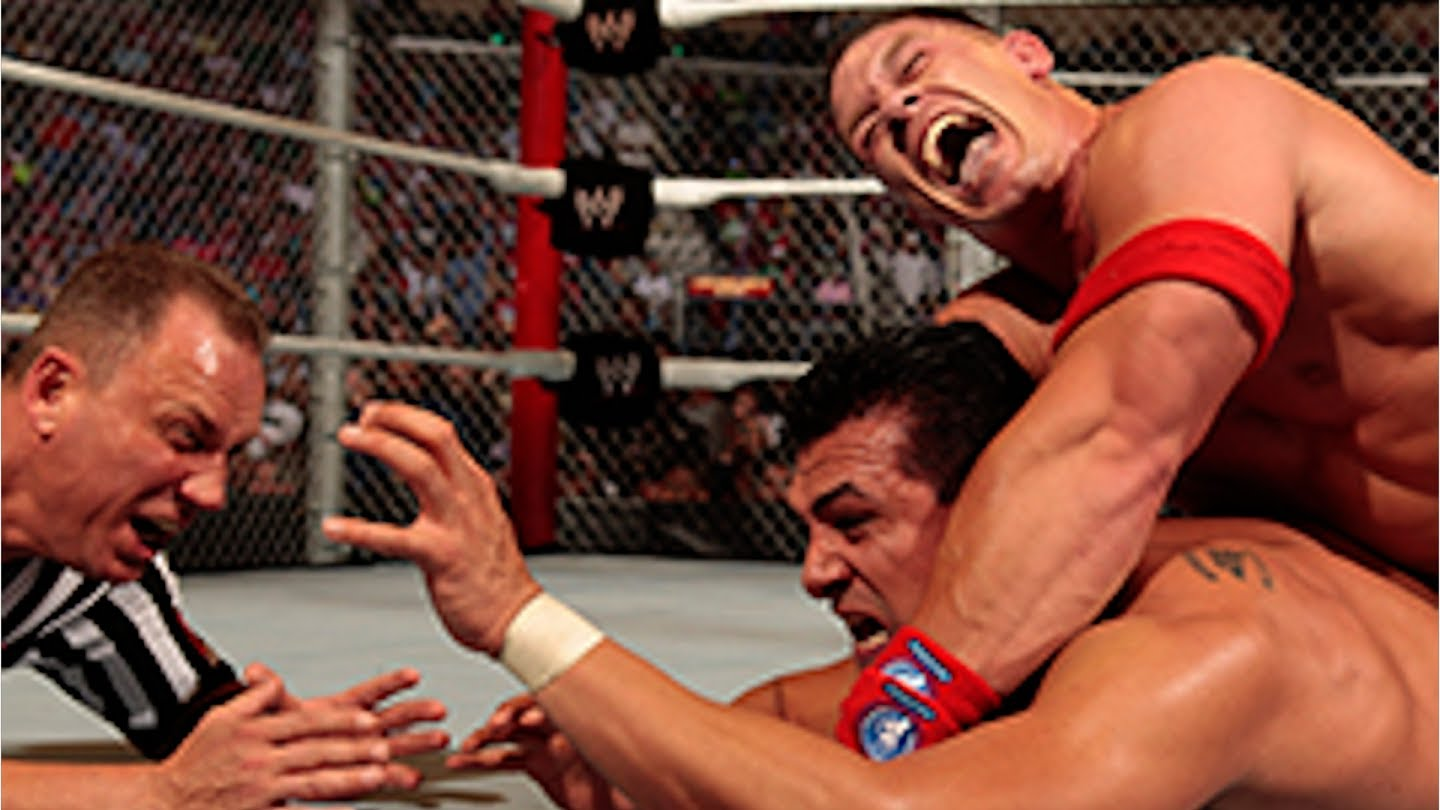 Nice Images Collection: WWE Hell In A Cell 2013 Desktop Wallpapers