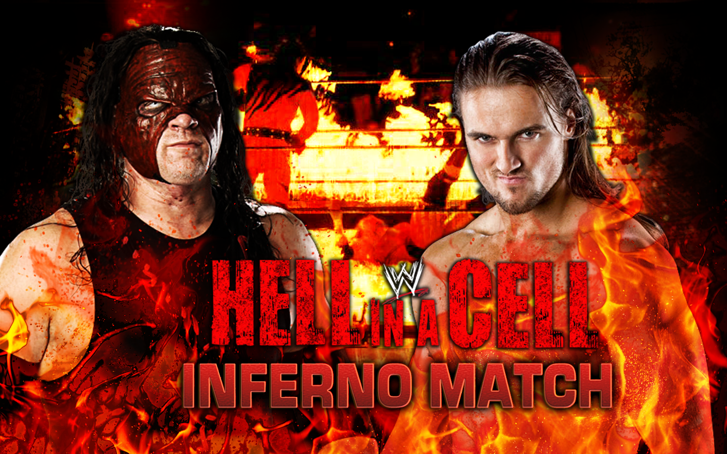 1440x900 > WWE Hell In A Cell 2013 Wallpapers