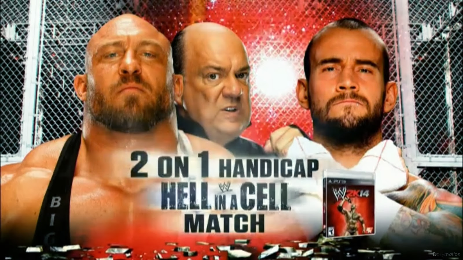 Nice wallpapers WWE Hell In A Cell 2013 1600x900px