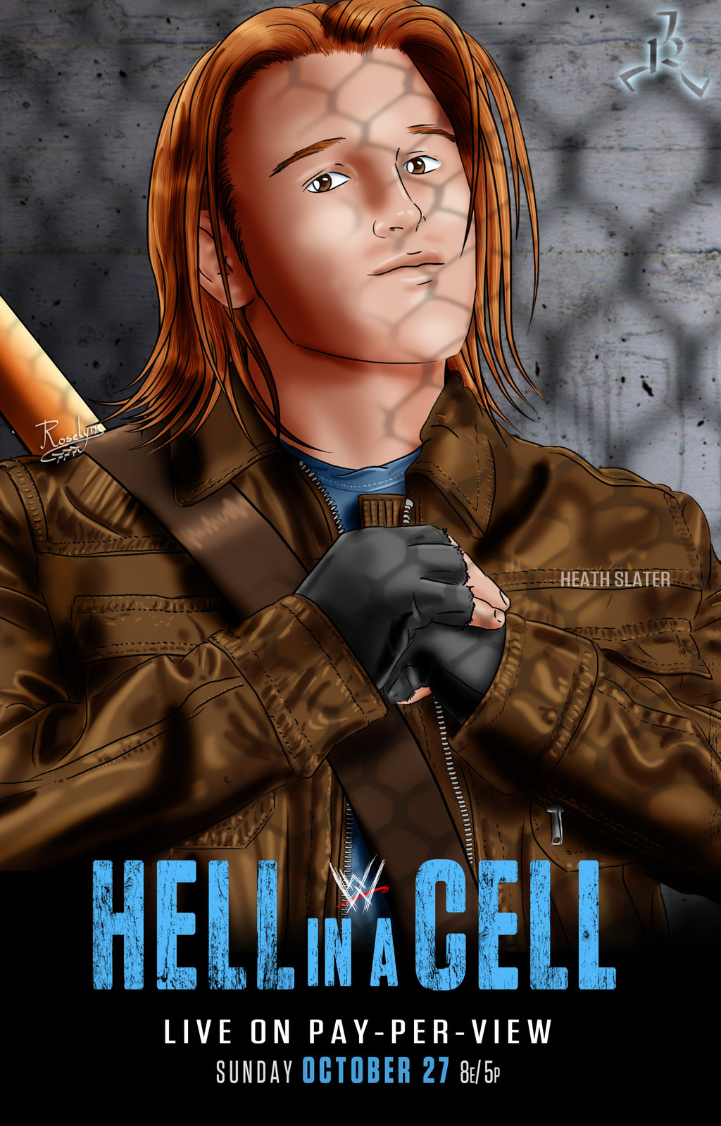 WWE Hell In A Cell 2013 Backgrounds, Compatible - PC, Mobile, Gadgets  1024x1599 px