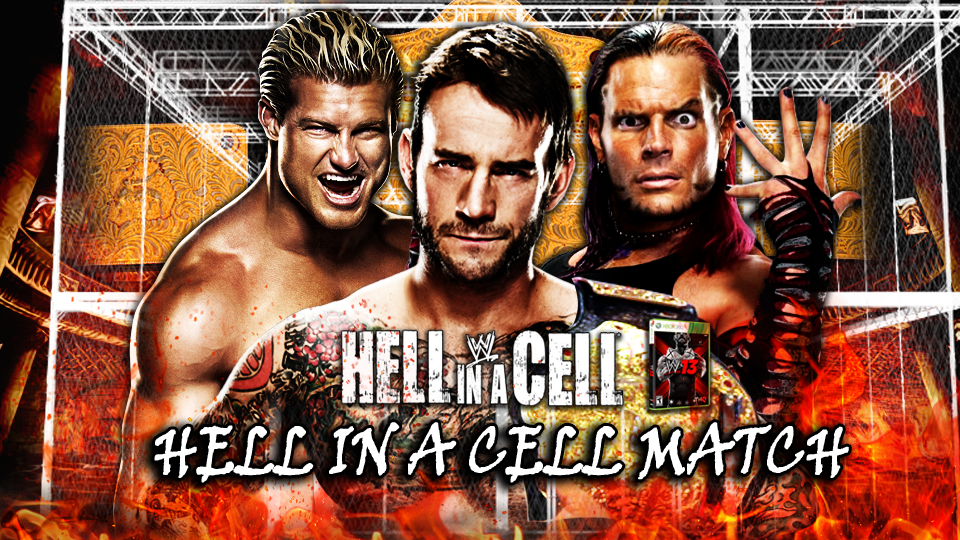 HQ WWE Hell In A Cell 2013 Wallpapers   File 1155.29Kb