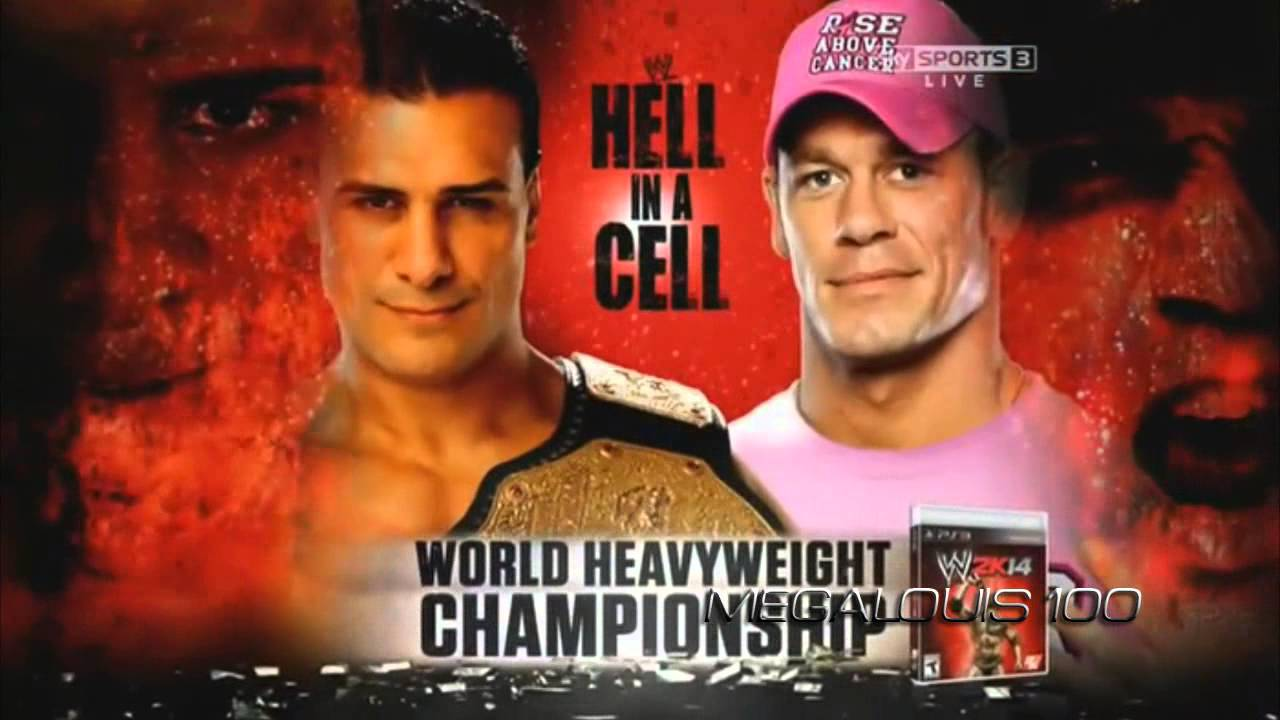 High Resolution Wallpaper   WWE Hell In A Cell 2013 1280x720 px