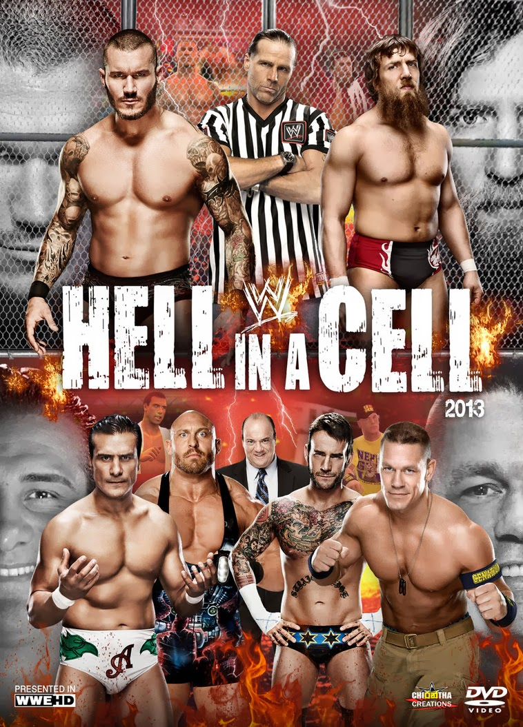 Nice wallpapers WWE Hell In A Cell 2013 758x1055px