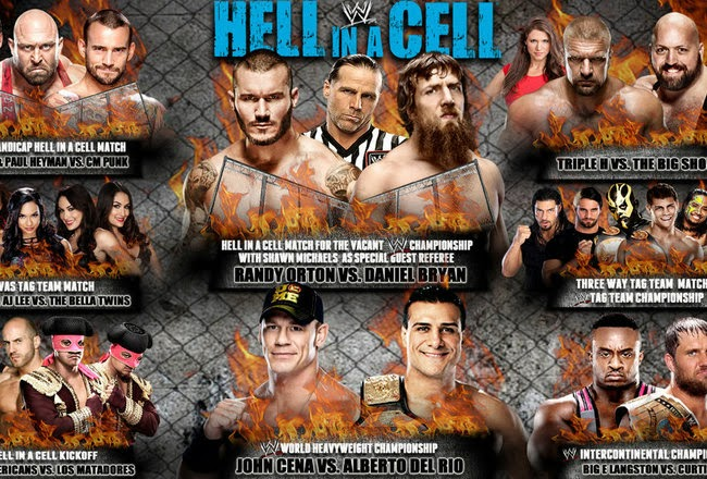 Amazing WWE Hell In A Cell 2013 Pictures & Backgrounds