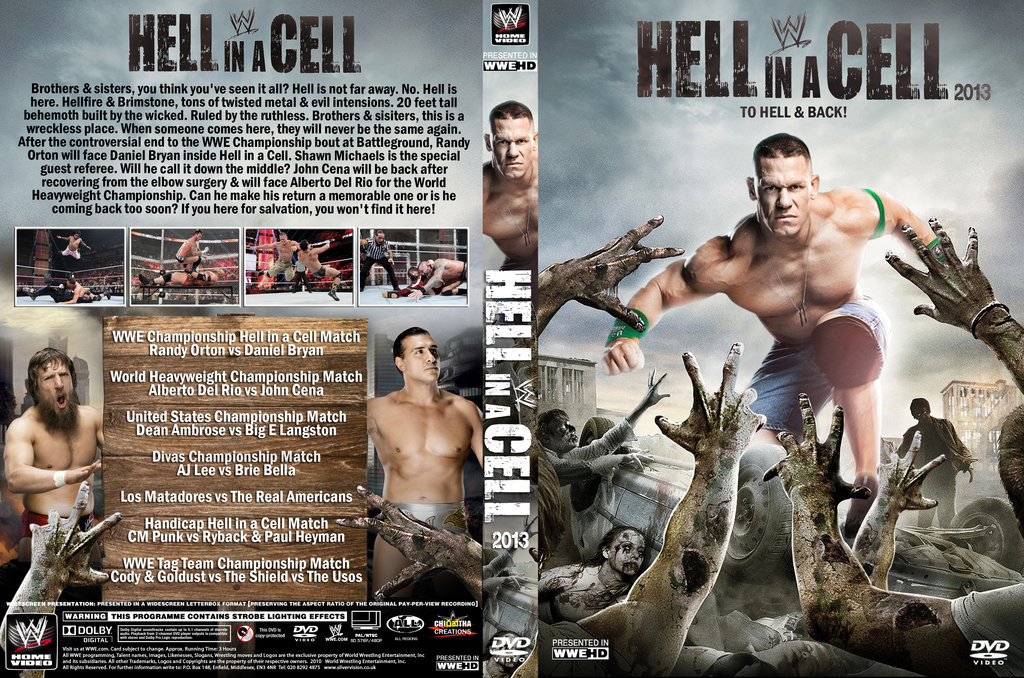 High Resolution Wallpaper   WWE Hell In A Cell 2013 1024x678 px