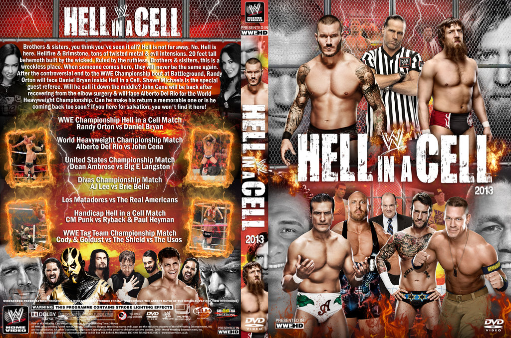 WWE Hell In A Cell 2013 Pics, Movie Collection