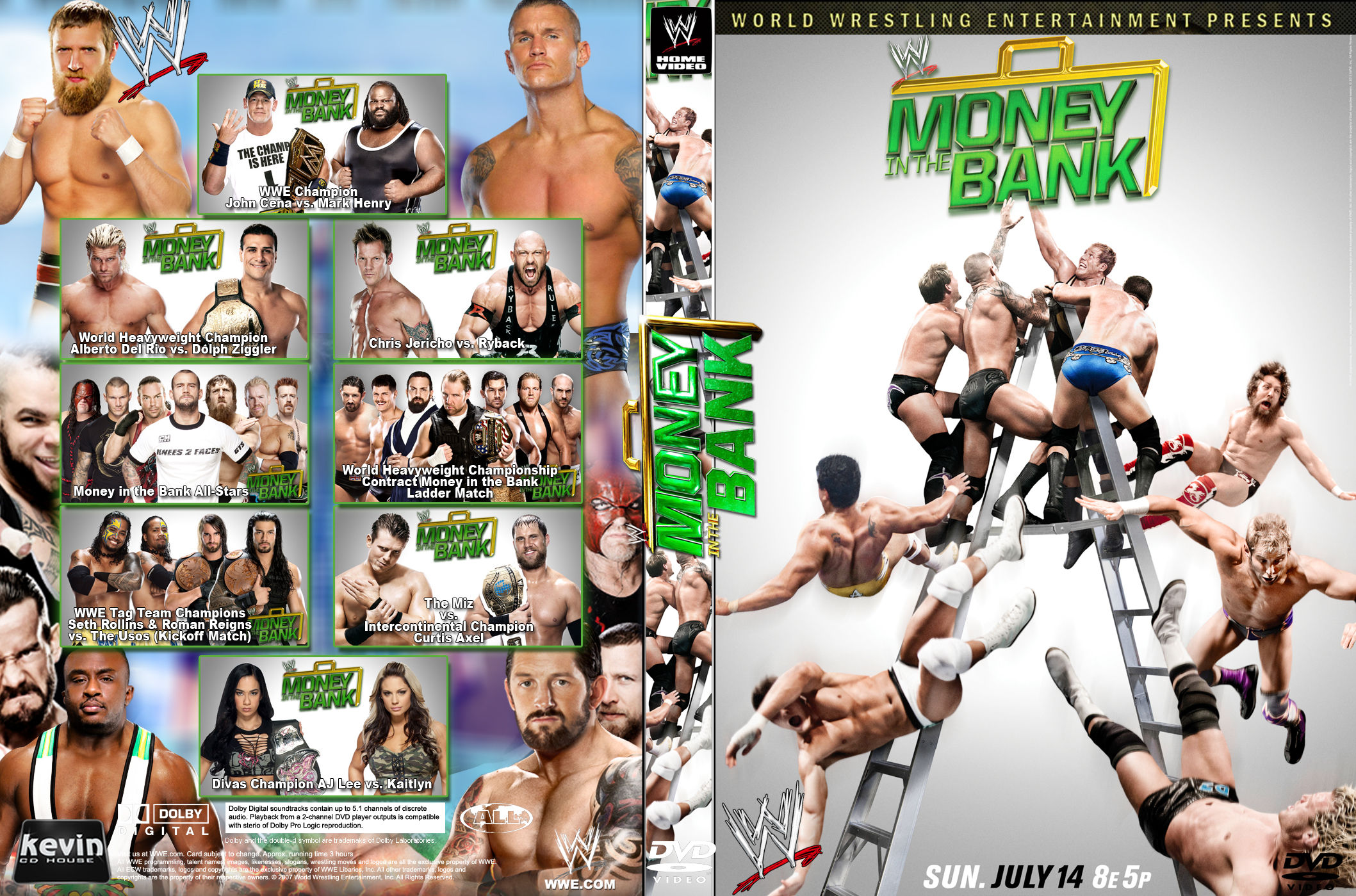 HQ WWE Money In The Bank 2013 Wallpapers   File 2402.93Kb