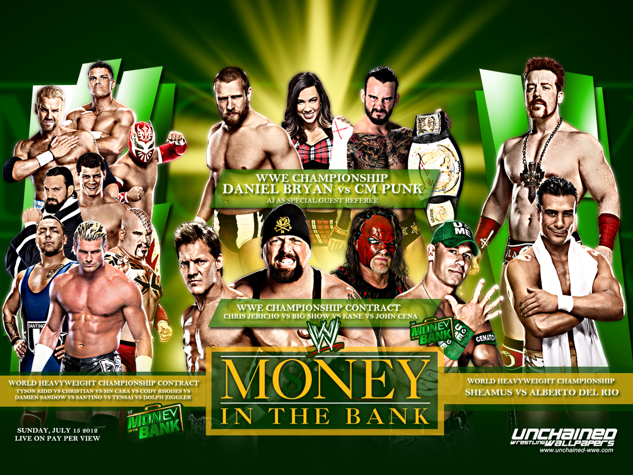 Nice wallpapers WWE Money In The Bank 2013 1280x960px