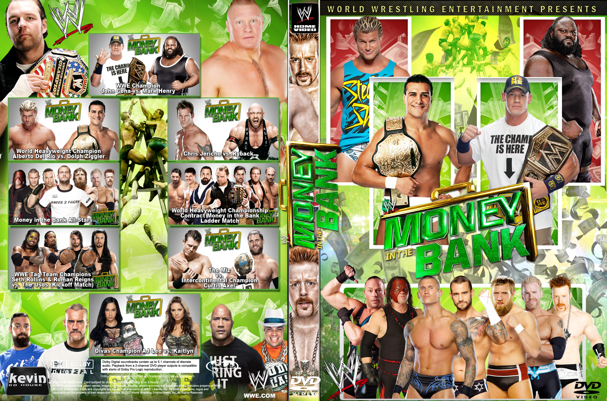 HQ WWE Money In The Bank 2013 Wallpapers   File 2991.02Kb