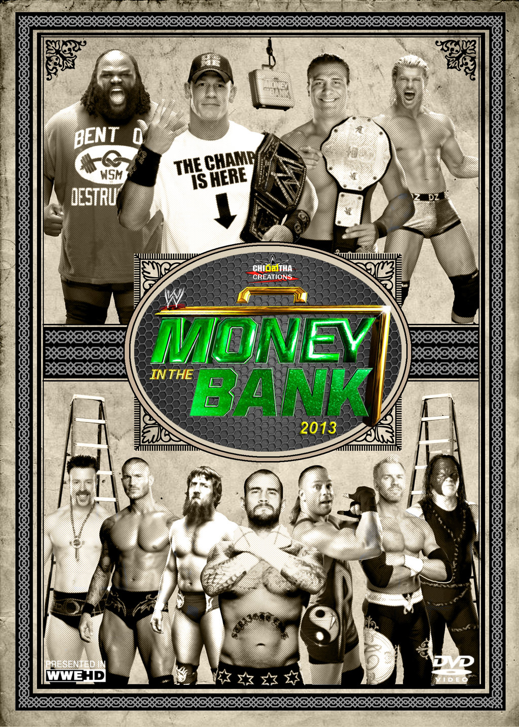 WWE Money In The Bank 2013 Backgrounds, Compatible - PC, Mobile, Gadgets  1024x1432 px