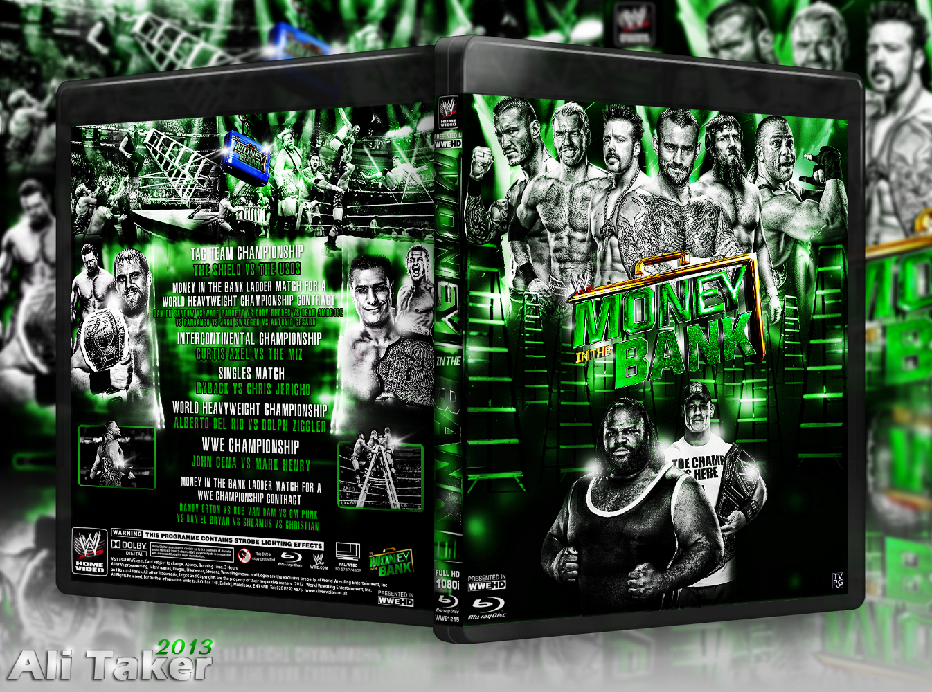 Nice wallpapers WWE Money In The Bank 2013 1346x1000px
